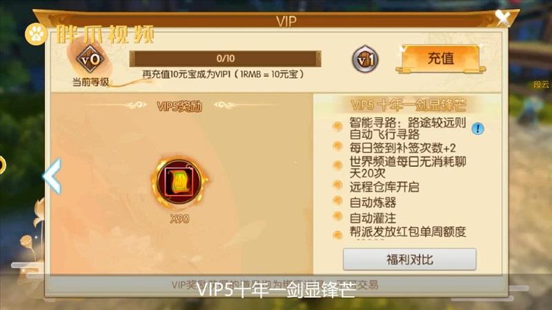 诛仙手游VIP价格表(6)