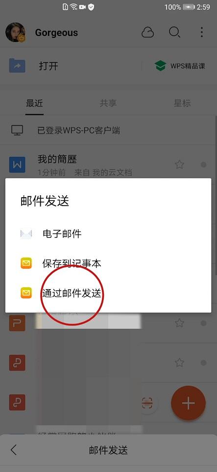 手机wps怎么发到qq邮箱(6)