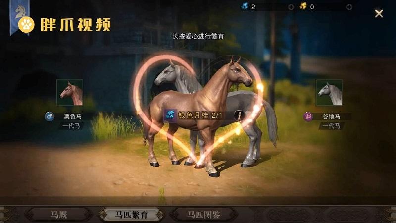 猎魂觉醒马匹怎么繁育后代(6)