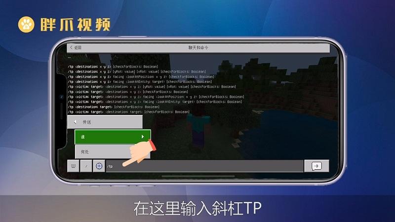 我的世界tp指令手机版(3)