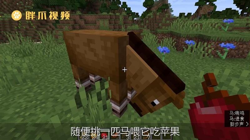 我的世界怎么驯服马(1)