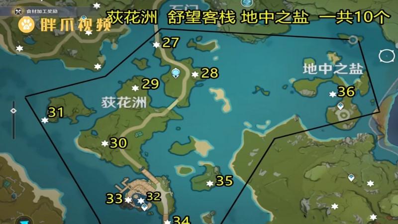 原神岩神瞳位置(2)