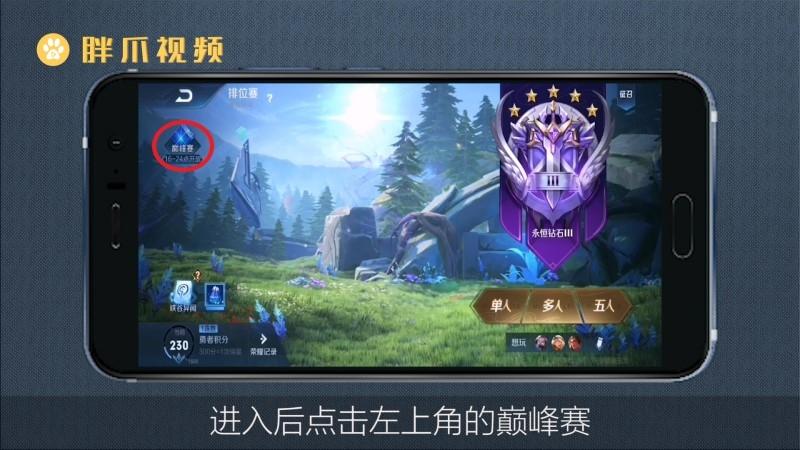 王者巅峰赛怎么打的(2)