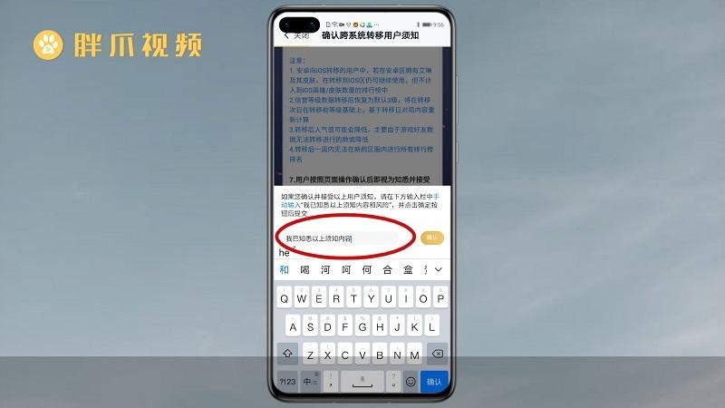王者荣耀安卓账号可以转苹果吗(5)