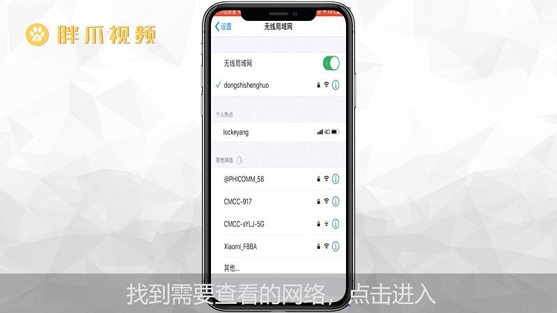 苹果手机怎么看wifi密码(1)
