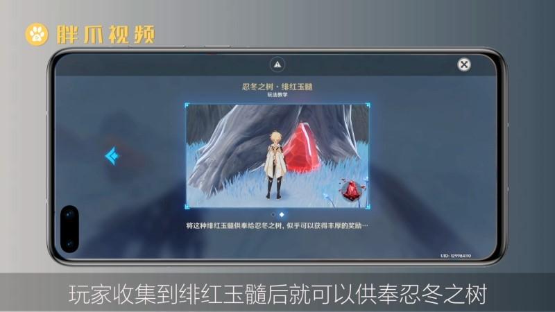 原神雪山绯红玉髓位置(3)