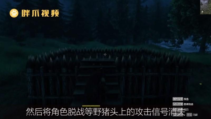 英灵神殿怎么驯服野猪(3)