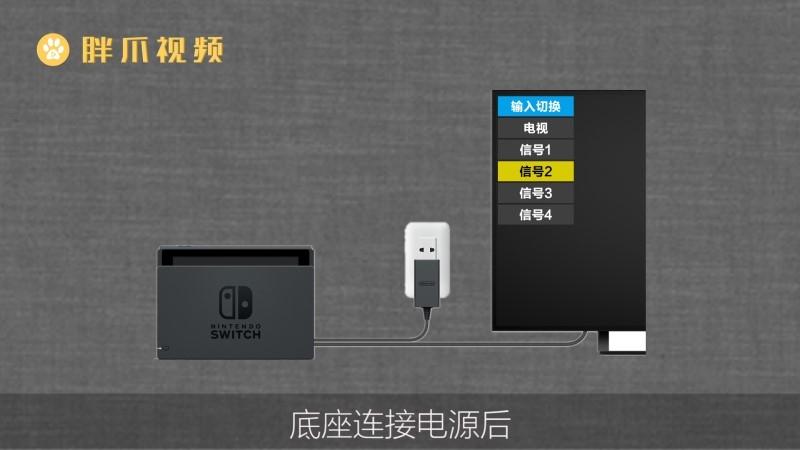 switch怎么连电视(3)