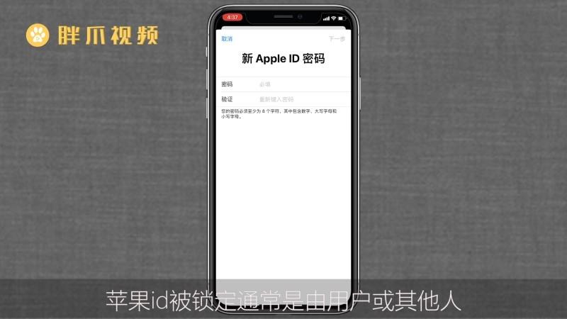 苹果id被锁定怎么办(4)