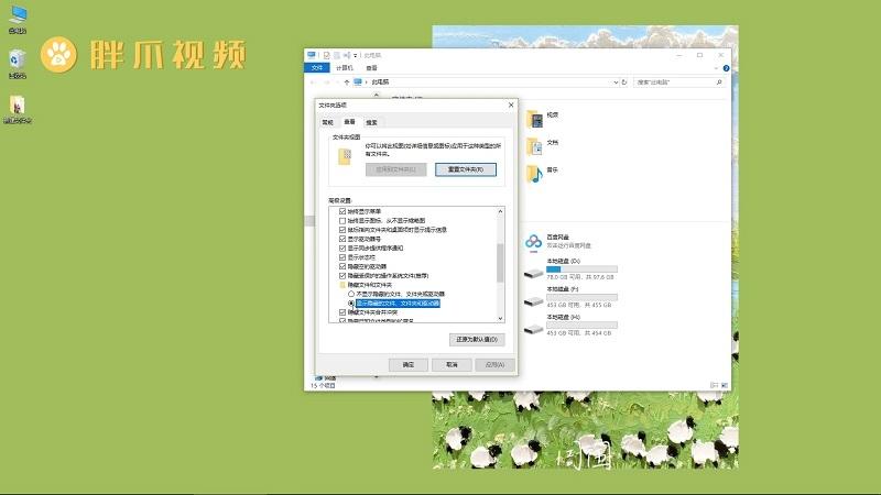 隐藏文件夹怎么显示(4)